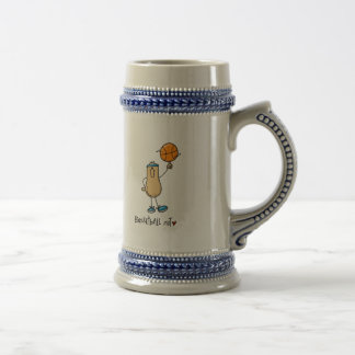 Nuez 3 del baloncesto tazas de café