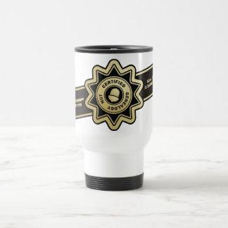 Nuez certificada de la genealogía taza de café