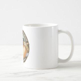 Nuez ciega de la ardilla taza de café