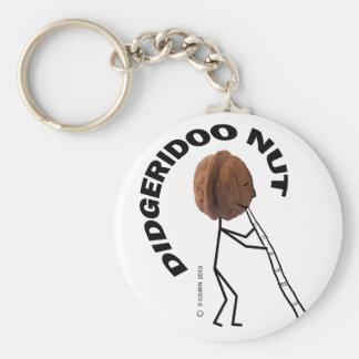 Nuez de Didgeridoo Llaveros