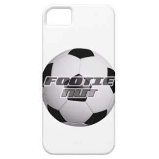 Nuez de Footie iPhone 5 Carcasas