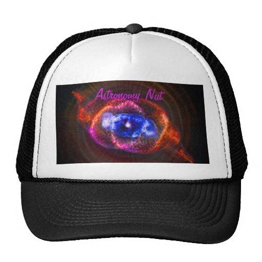 Nuez de la astronomía - la nebulosa del ojo de gorros bordados