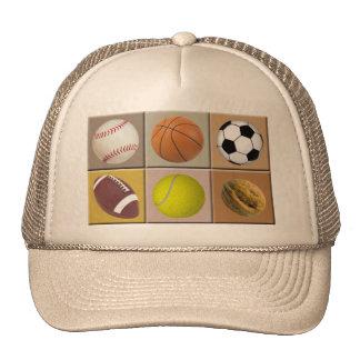 Nuez de los deportes gorras
