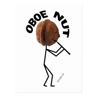 Nuez de Oboe Tarjetas Postales