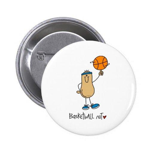 Nuez del baloncesto pin redondo de 2 pulgadas