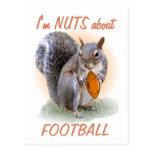 Nuez del fútbol postal