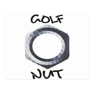 Nuez del golf postal
