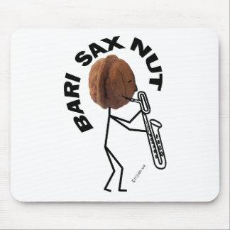 Nuez del saxofón de Bari Tapetes De Ratones