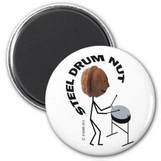 Nuez del tambor de acero imán redondo 5 cm