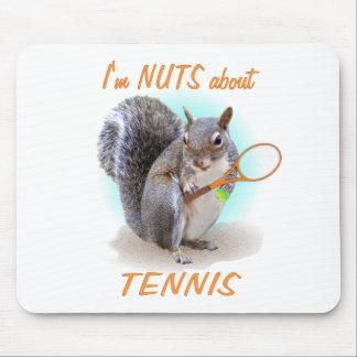 Nuez del tenis mousepads