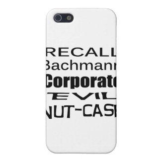 Nuez-Funda malvado corporativo de Micaela Bachmann iPhone 5 Funda