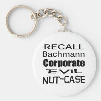 Nuez-Funda malvado corporativo de Micaela Bachmann Llaveros Personalizados
