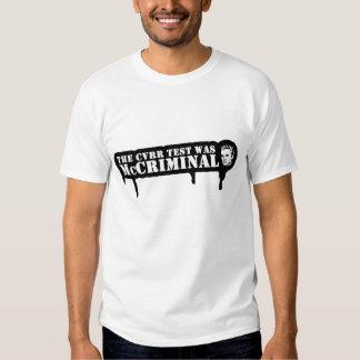 NUFSOM - McCriminal T-Shirt