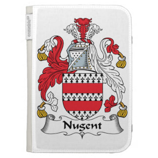 Nugent Family Crest Cases For The Kindle