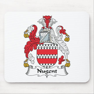 Nugent Family Crest Mouse Pad