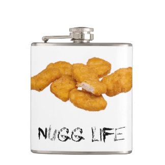 Nugg Life Hip Flask