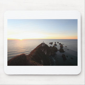 Nugget Point lighthouse Mouse Pad