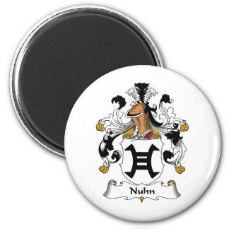 Nuhn Family Crest Magnet