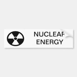 Nuke energy bumper sticker