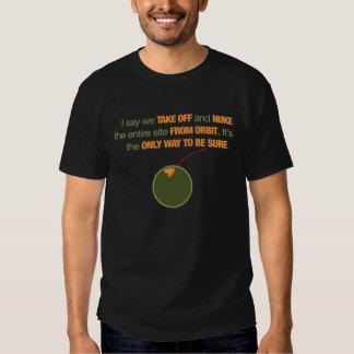 Nuke It From Orbit T Shirt