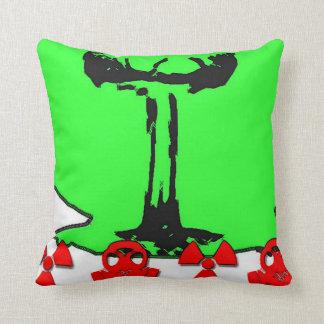 Nuke Pillow! Throw Pillow