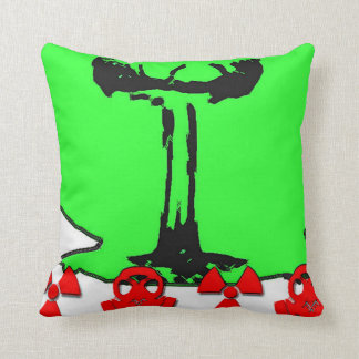 Nuke Pillow! Throw Pillow