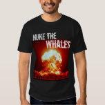nuke the whales - Customized Tee Shirts