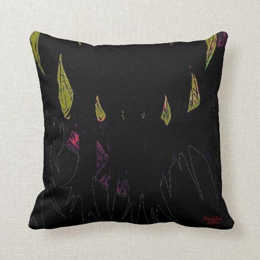 NukeDevil Angled DarkArt Double Sided Pillow v2