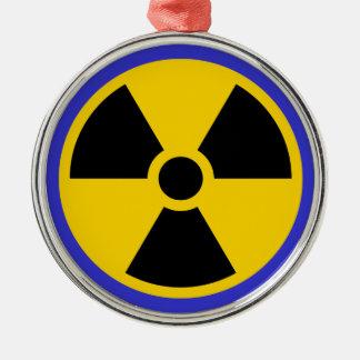 Nukes Metal Ornament