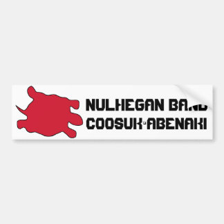 Nulhegan Abenaki Bumper Sticker