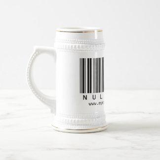 Null Hype Stein Mugs