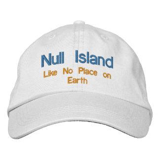 Null Island Baseball Cap