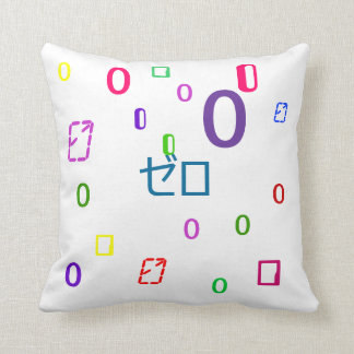 Null Pillow - Decorative Numbers Pillow 3