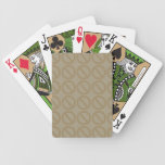 Null Sets (Browns) Playing Cards