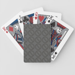 Null Sets (Greys) Playing Cards