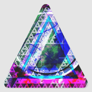 Nullified Triangles #1 Triangle Sticker