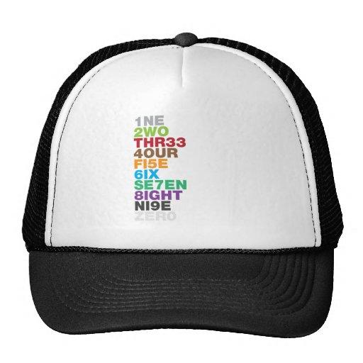 NUMB3R5 HAT