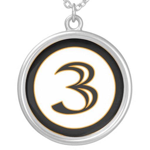 Numbah 3 necklace