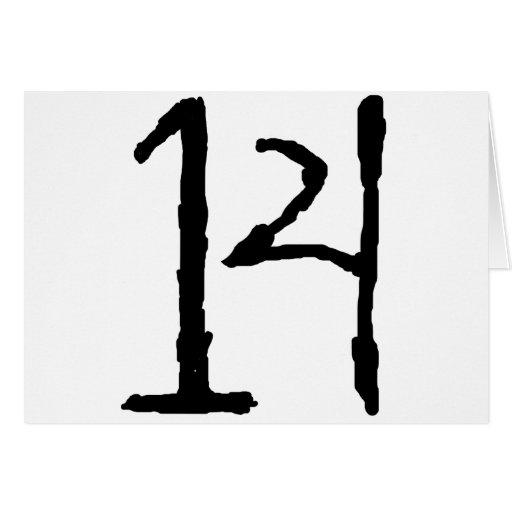 Number14 Felicitacion