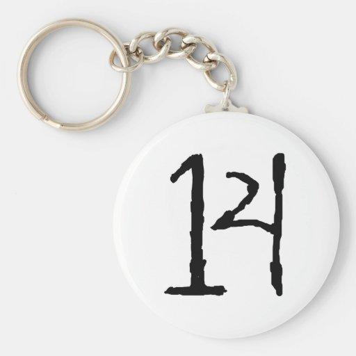 Number14 Llaveros Personalizados