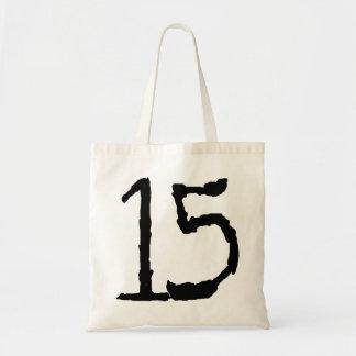 Number15 Bolsa Tela Barata