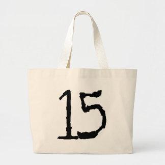 Number15 Bolsa Tela Grande
