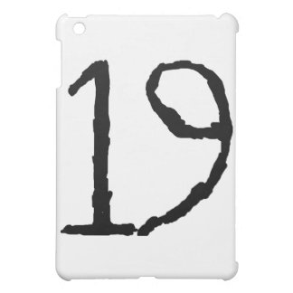 Number19 iPad Mini Covers
