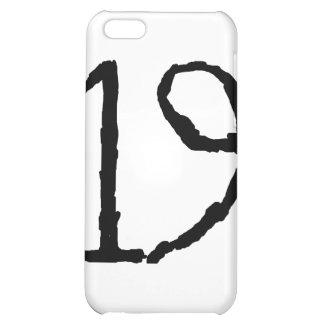 Number19 iPhone 5C Cases