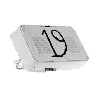 Number19 Mini Speakers