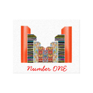 NUMBER1 NumberONE animan el logro Impresiones En Lona