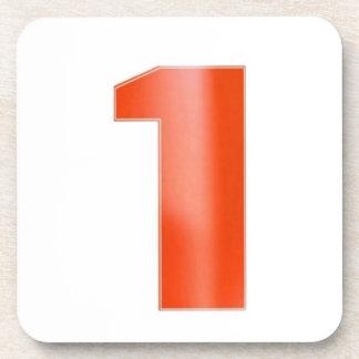 NUMBER1 NumberONE animan el logro Posavasos De Bebida