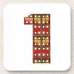 NUMBER1 NumberONE Encourage Achievement Beverage Coaster