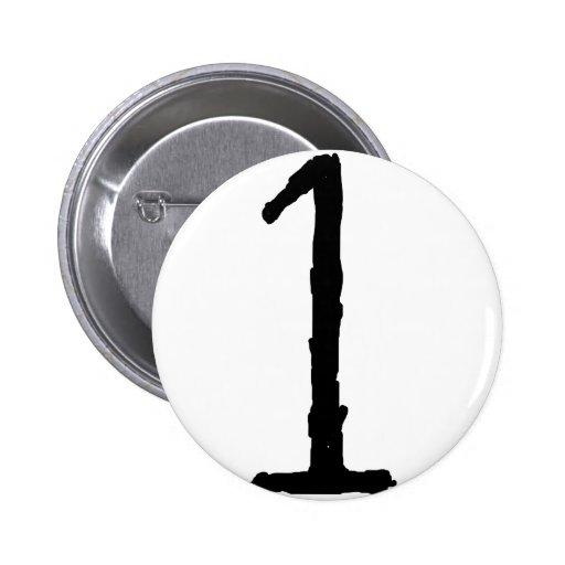 Number1 Pin