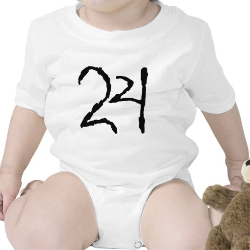 Number24 Baby Bodysuit